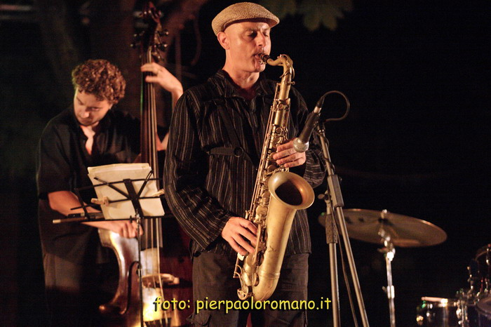 Jazz On The Road Festival 2006 - 25 LUGLIO -  DINO RUBINO QUARTET feat. PIETRO TONOLO - fotografie PIERPAOLO ROMANO